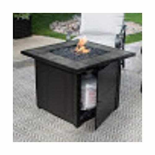 Endless Summer Gad1399sp Lp Gas Outdoor Fire Bowl With Slate Tile