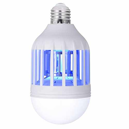 Sunnest Electronic Insect Killer, Bug Zapper Light Bulb, Mosquito Killer  Lamp, Mosquito Zapper, Fly Killer, Mosquito Trap, Fits In 110v Light Bulb  Socket, ...